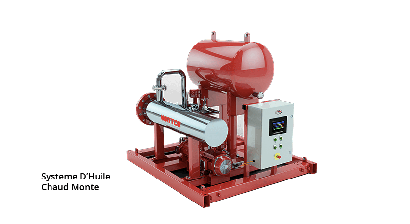 French Hot Oil Skid System